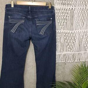 7FAMK Classic 7 Dojo flare jeans